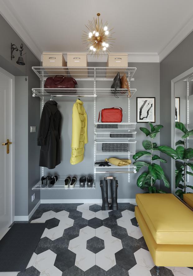 Готовые гардеробные системы