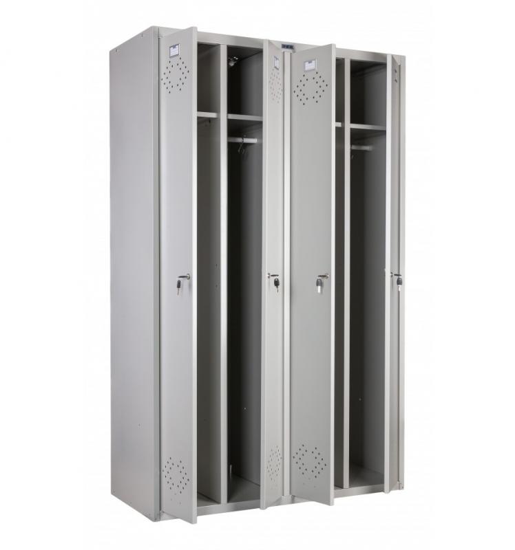 Шкафы секционные металлические для одежды